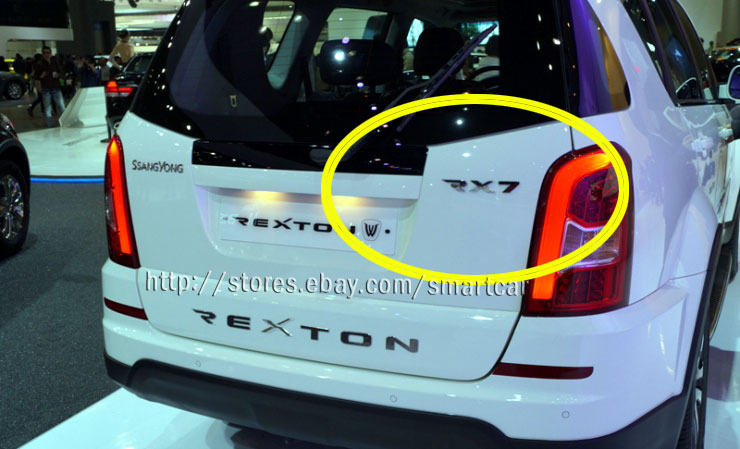 2012 2013 2014 2015 ssangyong rexton w oem tailgate rx7. Black Bedroom Furniture Sets. Home Design Ideas