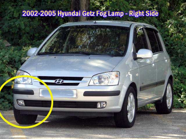front Fog Lamp Light Switch for 2002 2003 2004 2005 Hyundai Getz