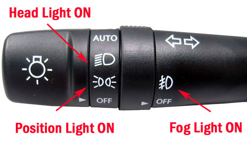 lighting switch_934101u110_2 hyundai kia oem multi function auto lighting fog light & turn Fog Light Wiring Diagram at bakdesigns.co